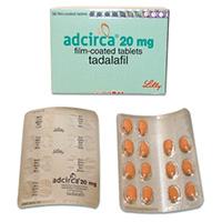 adcirca pillole